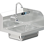 COMAL 30 HANDSINK WITH WALL SENSOR FAUCET END SPLASH RIGHT