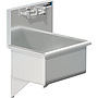 22 X 16 SERVICE SINK W / WALL FAUCET