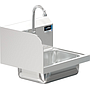 COMAL 14 x 10 x 5 HANDSINK WITH WALL SENSOR FAUCET END SPLASH LEFT