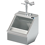 PALUXY 18 INCH TROUGH URINAL W/FLUSH VALVE